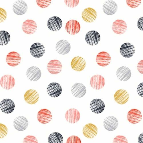 Dashwood Studio, Mori Girls - Dots Fabric